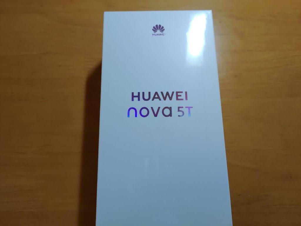 HUAWEI nova 5T 箱